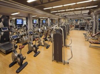 The male exercise room